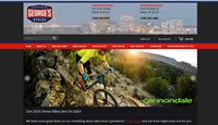 Georges Cycles & Fitness Website