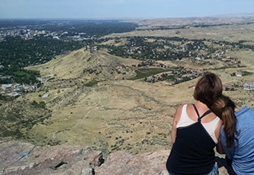 View of Boise from Table Rock